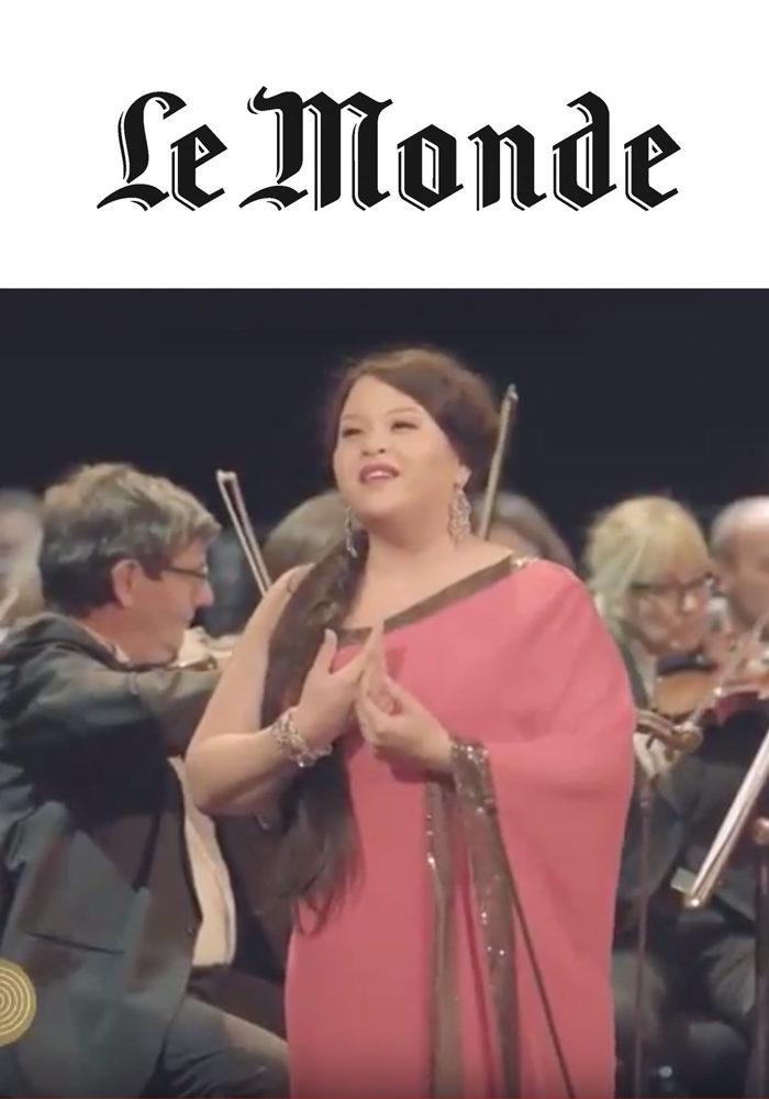 Le Monde – ANgélique Boudeville, Soprano
