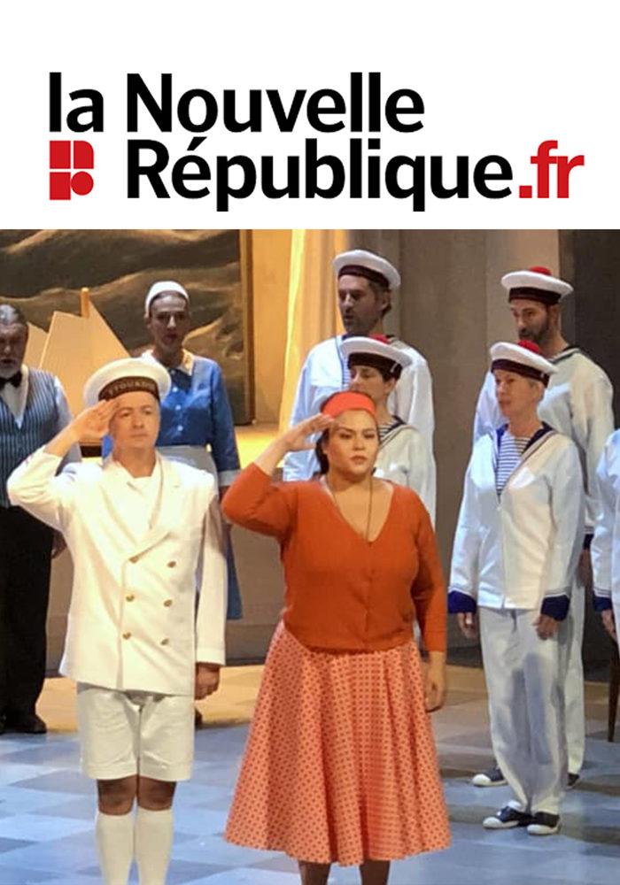 Angélique Boudeville – la nouvelle république